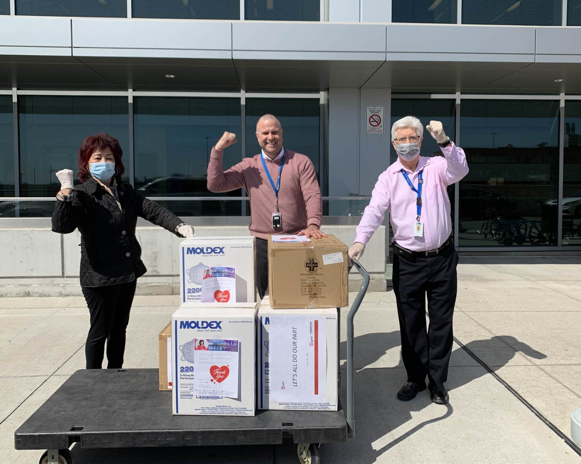 Masks donation To Humber River Hospital