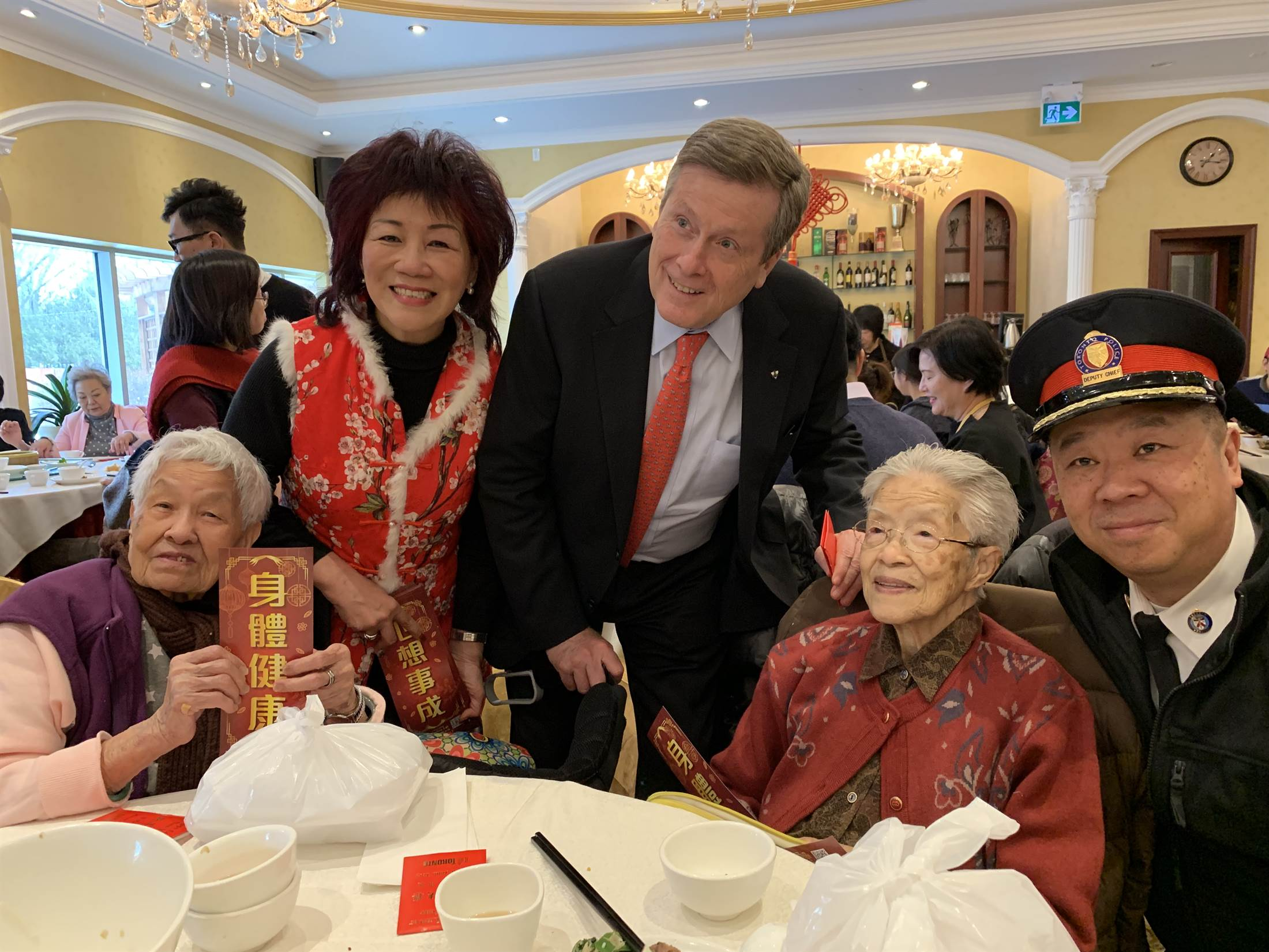 2019 CNY Mall Walk With Mayor